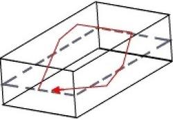 הדהוד אלכסוני עם 6 מחיצות כולל רצפה ותקרה