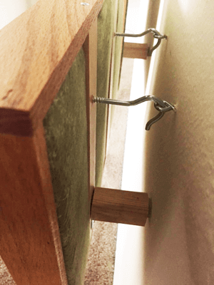 אחת הדרכים להתקנת פאנל אקוסטי על הקיר